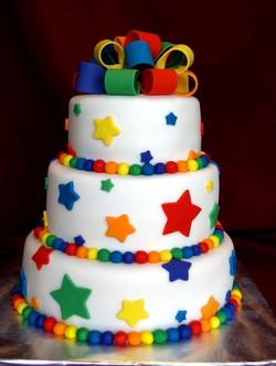 Wedding Cake Multicolor