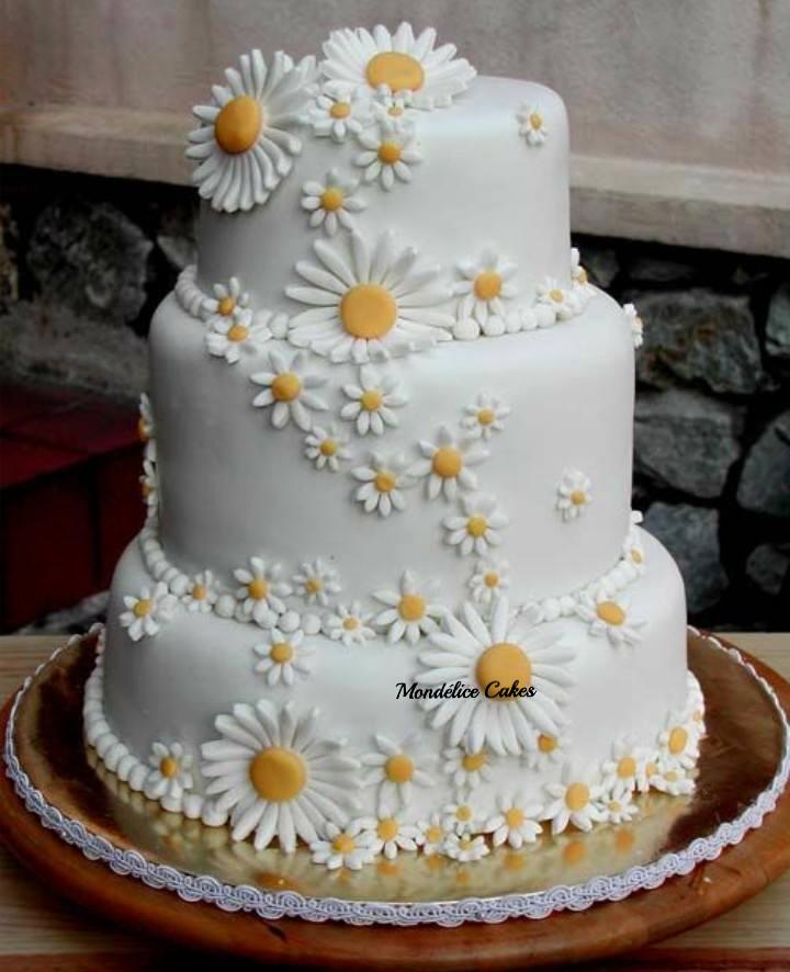 Cake cascade Paquerette