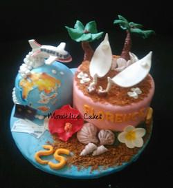 Cake Bali Voyage