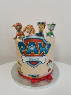Layer cake Paw
