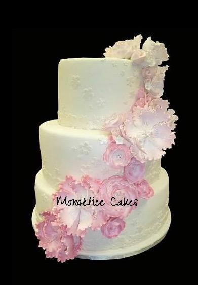 Cake Blanc & Rose