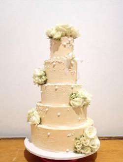 Wedding layer cake Crème