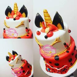 Cake Miraculos & Licorne