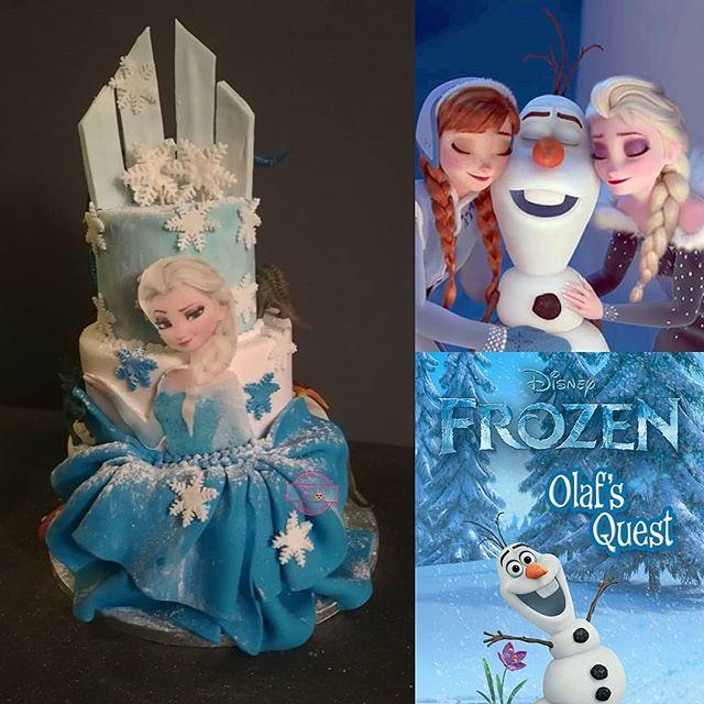 Frozen Cake's ❄️❄️❄️ CARTE BLANCHE & WHI