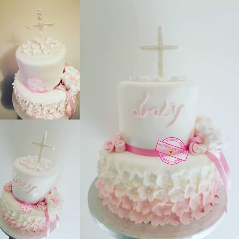 Cake Bapteme Laly