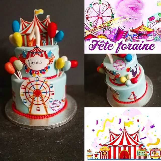 Wedding Cake Fête Foraine 🎉🎊🎆 🤡🎪🤹