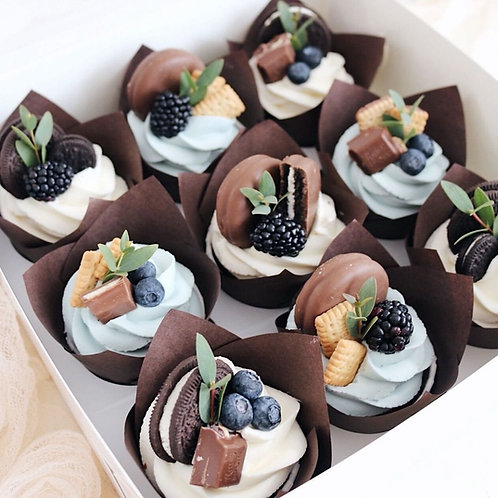 Box 9 Cupcakes Chocolat