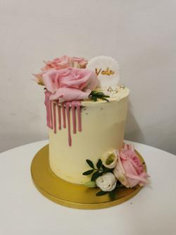 Layer cake drip