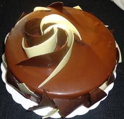 Entremet Chocolat Lait & Blanc