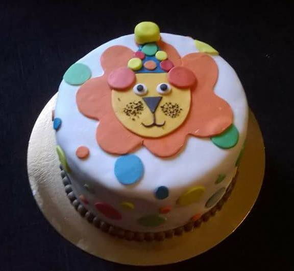 Cake Lion