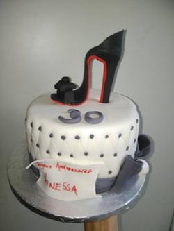 Cake Thème Louboutin
