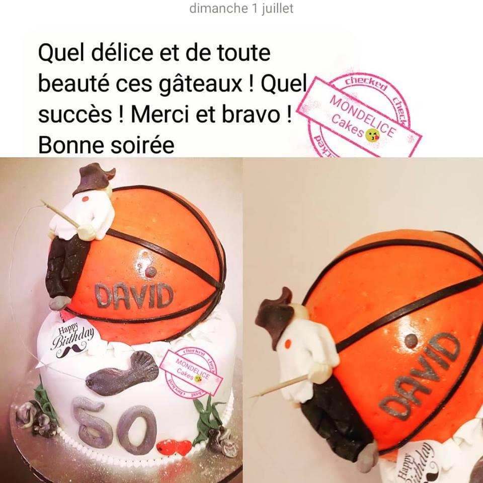 Cake Basket & Pêche