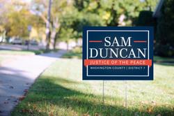 Sam Duncan Yard Sign