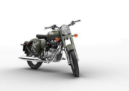 Royal Enfield classic 500 battlegreen.jp