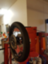 dækskift, afbalancering