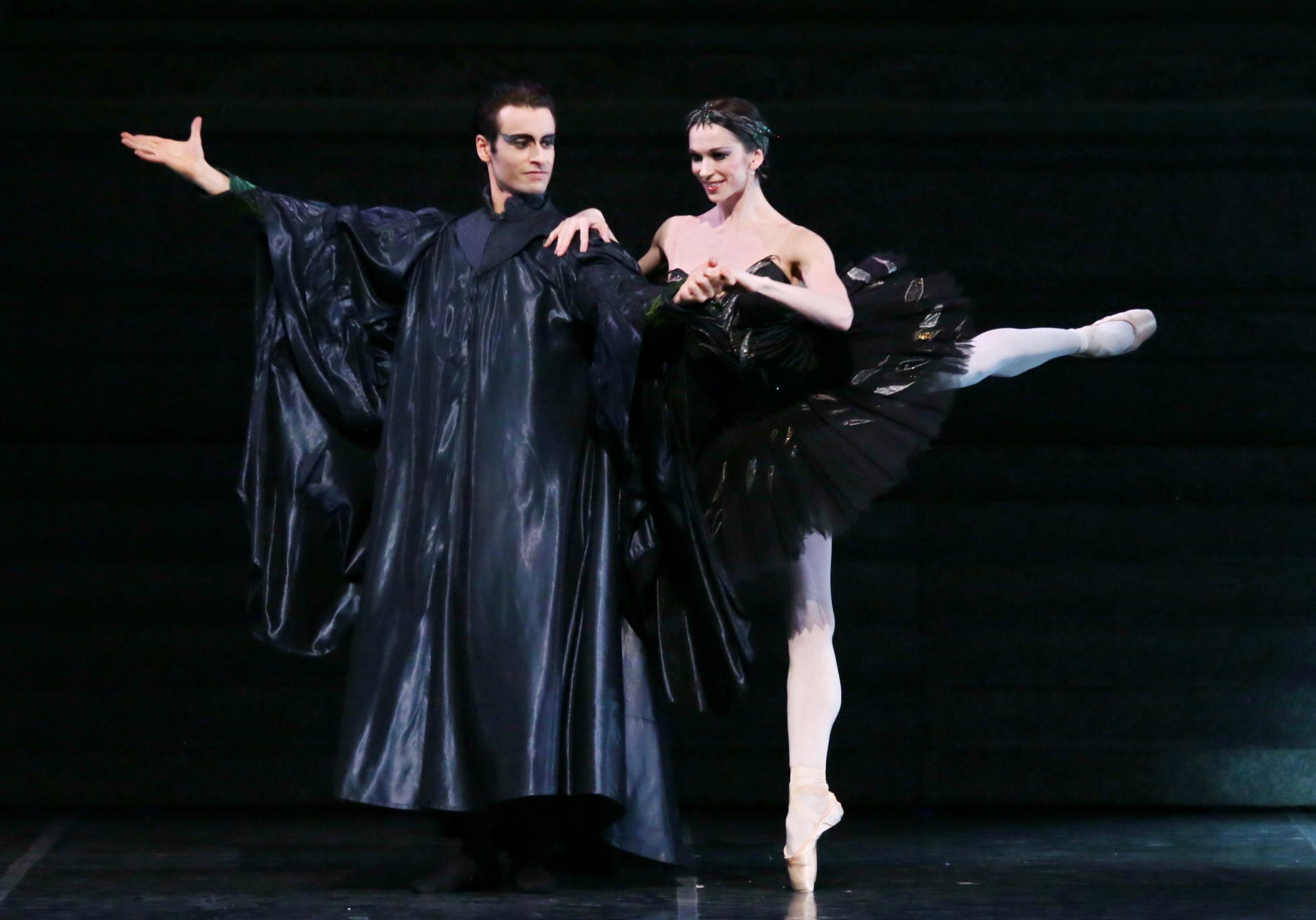 Marco Agostino and Polina Semionova