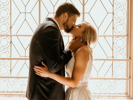 JENNA+MIKE'S CONTEMPORARY SF WEDDING