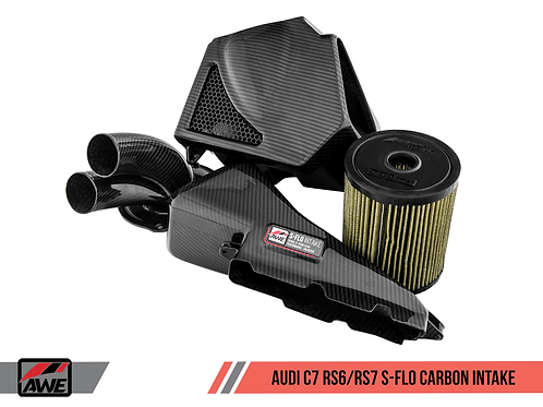 AWE S-FLO CARBON INTAKE FOR AUDI C7 RS 6 / RS 7 4.0T