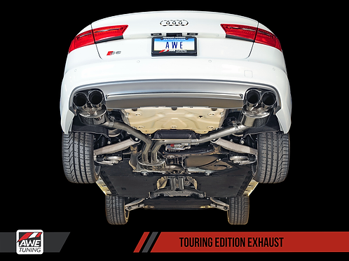 AWE TRACK EXHAUST AUDI S6 S7 4.0T