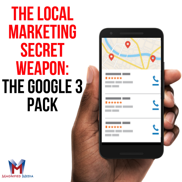 The Local Marketing Secret Weapon: The Google 3 Pack