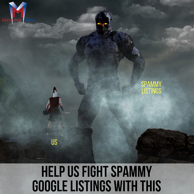 Help us Fight Spammy Google Listings wit