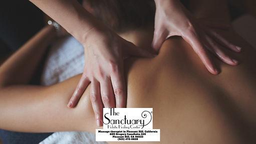 Massage therapist - The Sanctuary Pleasant Hill LLC 609 Gregory Ln Suite #220 Pleasant Hil