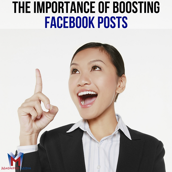 The Importance of Boosting Facebook Post