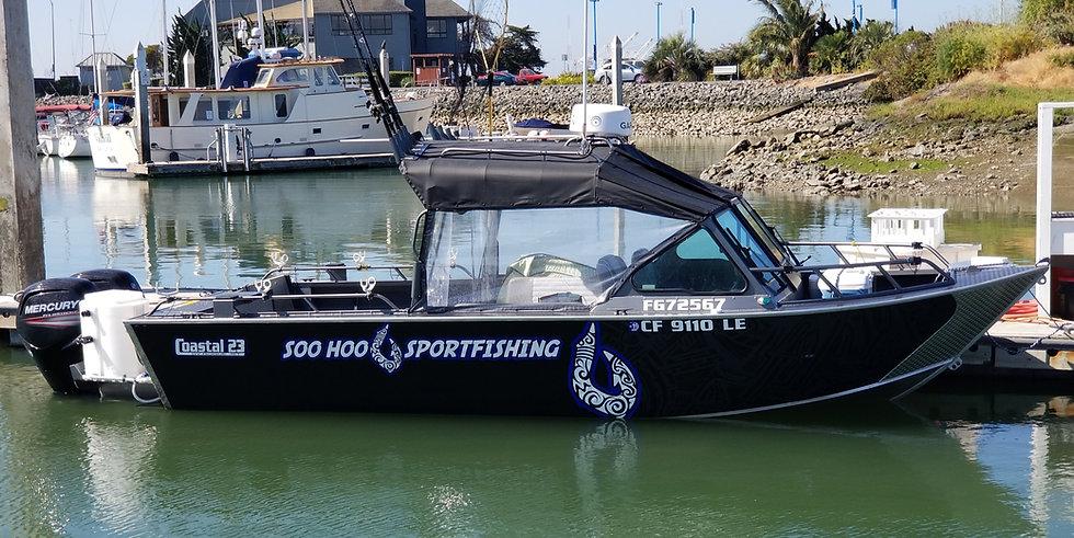 Soo Hoo Sportfishing Oakley, California