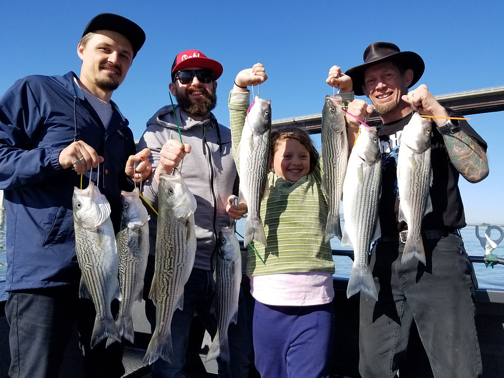 Soo Hoo Sportfishing Team in Oakley Ca