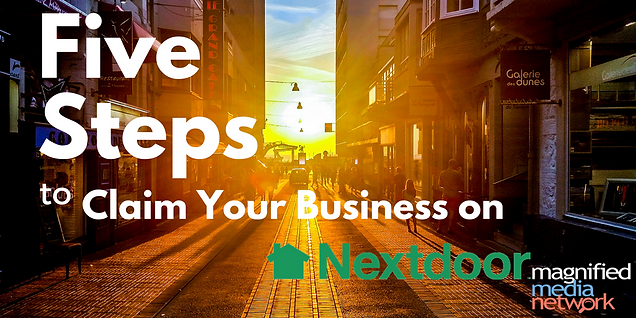 Five easy steps to claim business on Nextdoor