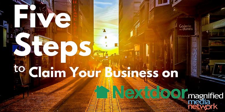 Register your business on Nextdoor