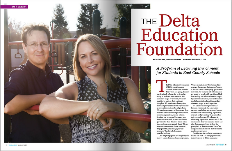Delta Education Foundation in the News
