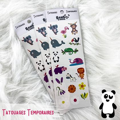Tatouages Temporaires - Bambou d'Chou