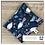 Thumbnail: Oiseaux fleuris - sac imperméable