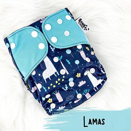 Lamas - Couche Lavable
