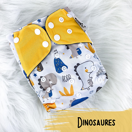 Dinosaures - Couche Lavable