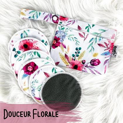 Douceur Florale - Compresses d'Allaitement