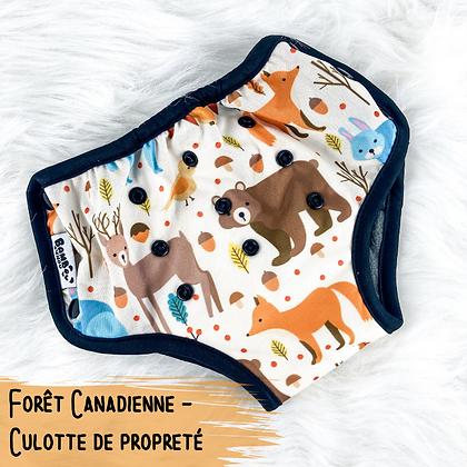 Foret Canadienne - Culotte de Proprete