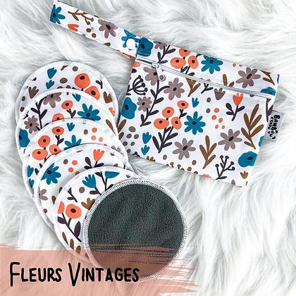Fleurs Vintages - Compresses d'Allaitement