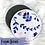 Thumbnail: Fleurs Bleues - Compresses d'Allaitement