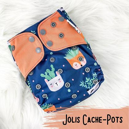 Jolis Cache-Pots - Couche Lavable