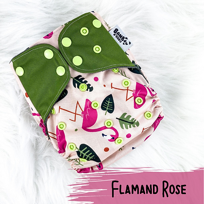 Flamand Rose - Couche Lavable