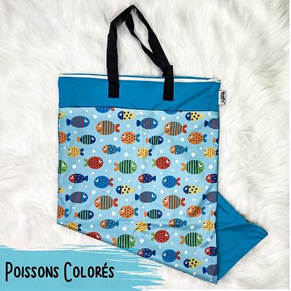 Poissons Colores - Sac a Lessive