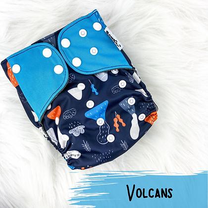 Volcans - Couche Lavable