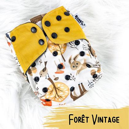 Foret Vintage - Couche Lavable
