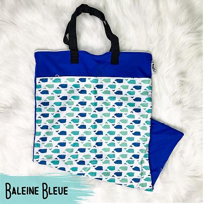 Baleine Bleue - Sac a Lessive