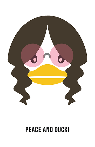 PEACE AND DUCK
