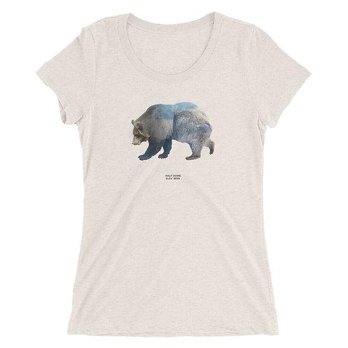 Half Dome Ladies' short sleeve t-shirt
