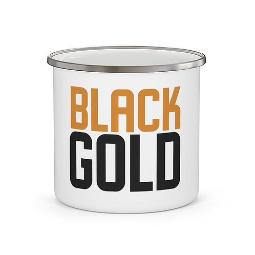 Black Gold Mug