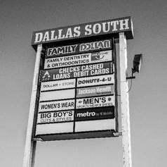 South Dallas Plaza Sign